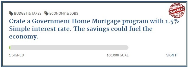 Home mortgage 1.5% simple interest rate